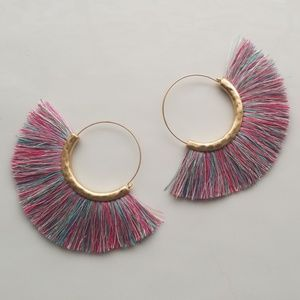 Jewelry - Tassle Loop Earrings